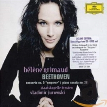 Beethoven: Piano Concerto No. 5; Piano Sonata No.28 In A, Op.101 - de Hélène Grimaud, Staatskapelle Dresden, Wladimir Jurowski