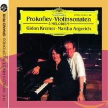 Prokofiev: Violin Sonatas - de Gidon Kremer, Martha Argerich