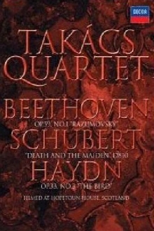 String Quartets By Beethoven, Schubert & Haydn - de Takács Quartet