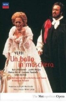 Verdi: Un Ballo In Maschera - de Luciano Pavarotti, Katia Ricciarelli, Judith Blegen
