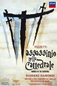 Pizzetti: Assassinio Nella Cattedrale - de Ruggero Raimondi, Orchestra Sinfonica Della Provincia Di Bari, Piergiorgio Morandi