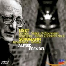 Alfred Brendel Plays Liszt & Schumann - de Alfred Brendel