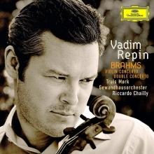 Brahms: Violin Concerto; Double Concerto - de Vadim Repin, Truls Mörk, Gewandhausorchester Leipzig