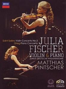 Julia Fischer - Concertos By Saint-saens & Grieg - de Julia Fischer, Junge Deutsche Philharmonie, Matthias Pintscher