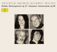 Brahms: Piano Quintet / Schumann: Fantasiestücke - de Martha Argerich, Gidon Kremer, Yuri Bashmet