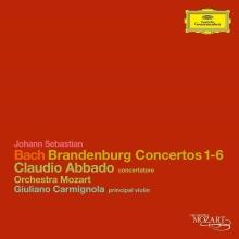 Bach, J.s.: Brandenburg Concertos - de Orchestra Mozart, Claudio Abbado, Giuliano Carmignola