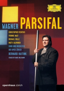 Wagner: Parsifal - de Yvonne Naef, Christopher Ventris, Michael Volle