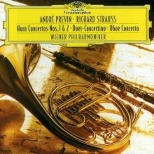 Strauss, R.: Horn Concertos Nos. 1&2; Duet Concertino; Oboe Concerto - de Wiener Philharmoniker, André Previn