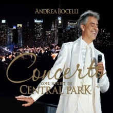 Concerto: One Night In Central Park - de Andrea Bocelli
