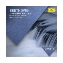 Beethoven:symphonies 2&4 - de Pletnev,mikhail