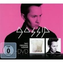Two original albums :Music for men & Live in  Liverpool (2cd & 1 dvd) - de Gossip