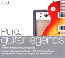 Pure....guitar legends - de feat.Santana,Joe Satriani,Jeff Beck,John Mayer etc