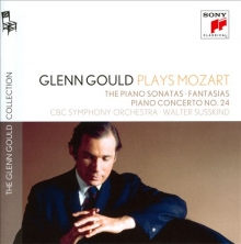 Glenn Gould plays Mozart  - de The Piano Sonatas-Fantasias-Piano concerto nr.24