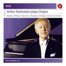 Arthur Rubinstein plays Chopin  - de Sonatas,Waltzes,Nocturnes,Mazurkas etc