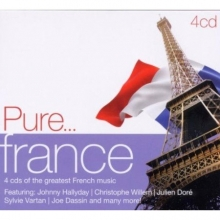 Pure...france - de Johnny Hallyday,Julien Dore,Sylvie Vartan ,Joe Dassin etc