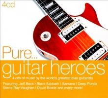 Pure....guitar heroes - de Jeff Beck,Black Sabbath,Santana,Deep Purple,David Bowie etc