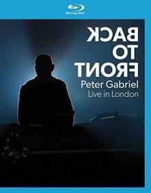 Back to Front-Live in London - de Peter Gabriel