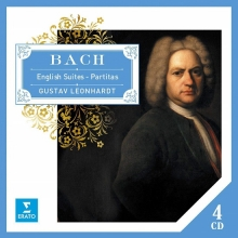 Bach:English Suites-Partitas - de Gustav Leonhardt