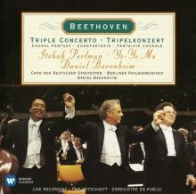 Beethoven - Triple Concerto - de Itzhak Perlman, Yo Yo Ma,  Daniel Barenboim