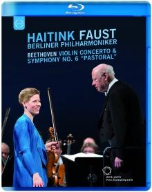 Beethoven:Violin Concerto,Symphony no.6 - de Bernard Haitink,Berliner Philharmoniker,Isabelle Faust-Violin