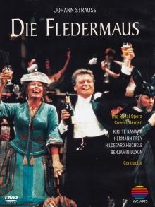 Johann Strauss:Die Fledermaus - de Kiri Te Kanawa,Hermann Prey,Hildegard Heichele,Royal Opera Covent Garden,Placido Domingo