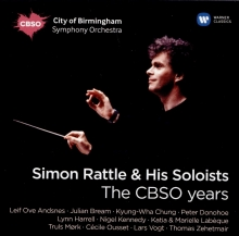 The CBSO years - de Simon Rattle & His Soloists