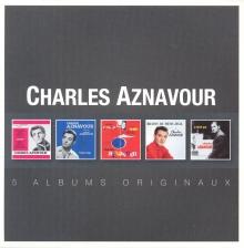 5 Albums Originaux - de Charles Aznavour