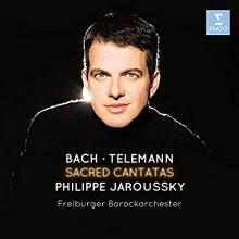 Sacred Cantatas:Bach-Telemann - de Philippe Jaroussky/Freiburger Barockorchester