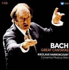 Bach:Great Cantatas - de Nikolaus Harnoncourt,Concertus Musicus Wien