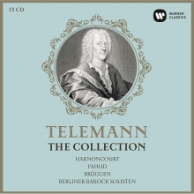 Telemann:The Collection - de Harnoncourt-Pahud-Bruggen-Berliner Barock Solisten