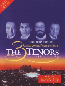 The 3 Tenors in concert 1994 - de Carreras Domingo Pavarotti with Mehta