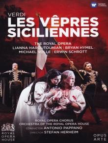 Verdi:Les Vespres Siciliennes - de Lianna Haroutounian,Bryan Hymel,Michael Volle,Erwin Schrott/The Royal Opera House/Antonio Pappano