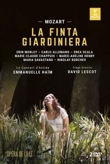 Mozart:La Finta Giardiniera - de Erin Morley,Carlo Allemano,Enea Scala,Maria Savastano/Le Concert d\'Astree/Emmanuelle Haim
