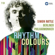 Rhythm & Colours - de Simon Rattle,Berliner Philharmoniker