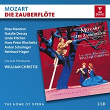 Mozart:Die Zauberflote - de Rosa Mannion,Natalie Dessay,Linda Kitchen,Les Arts Florissants,William Christie