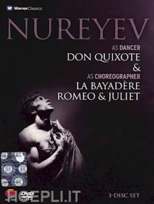 Don Quixote & La Bayadere & Romeo&Juliet - de Rudolf Nureyev - dancer & choreographer