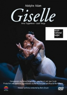 Adolphe Adam:Giselle - de AnnaTsygankova,Josef Varga/Dutch National Ballet
