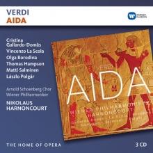Verdi: Aida - de Cristina Gallardo-Domas,Vicenzo La Scola,Olga Borodina,Thomas Hampson/Nikolaus Harnoncourt