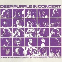In Concert - de Deep Purple