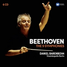 Beethoven:The 9 Symphonies - de Daniel Barenbiom/Staatskapelle Berlin