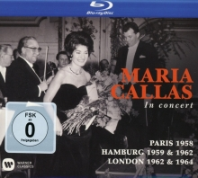 In Concert:Paris 1958-Hamburg 1959&1962-London 1962&1964 - de Maria Callas