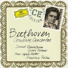 Beethoven:Complete Concertos - de Daniel Barenboim/Gideon Kremer/Anne-Sophie Mutter/Maurizio Pollini