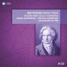 Beethoven:Piano Trios-Violin and Cello Sonatas - de Daniel Barenbiom-Pinchas Zukerman-Jaqueline du Pre