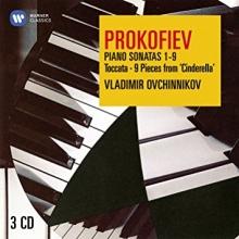 Prokofiev:Piano Sonatas 1-9-Toccata-9 Pieces from 'Cinderella' - de Vladimir Ovchinnikov