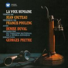 Poulenc:La Voix humaine/Jean Cocteau:Le Bel indifferent - de Georges Pretre/Edith Piaf