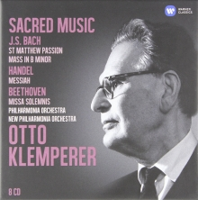 Sacred Music:J.S.Bach-Handel-Beethoven - de Otto Klemperer/Philharmonia Orchestra