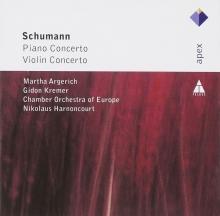 Schumann:Piano Concert/Violin Concerto - de Martha Argerich-Gideon Kremer-Chamber Orchestra of Europe-Nikolaus Harnoncourt