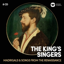 Madrigals & Songs from the Renaissance - de The King's Singers with The Consort of Musicke/Anthony Rooley