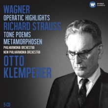 Wagner: Operatic Highlights; Richard Strauss: Tone Poems  - de Otto Klemperer