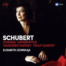 Schubert:Sonatas-Impromptus-Wanderer Fantasy-Trout Quintet - de Elisabeth Leonskaja